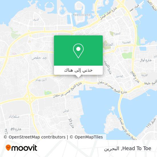 خريطة Head To Toe
