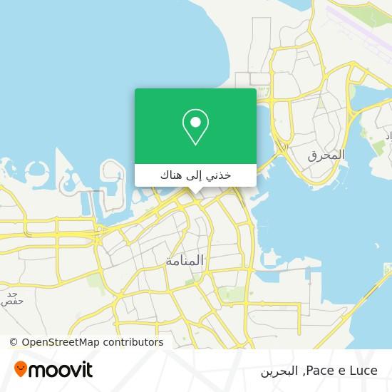 خريطة Pace e Luce