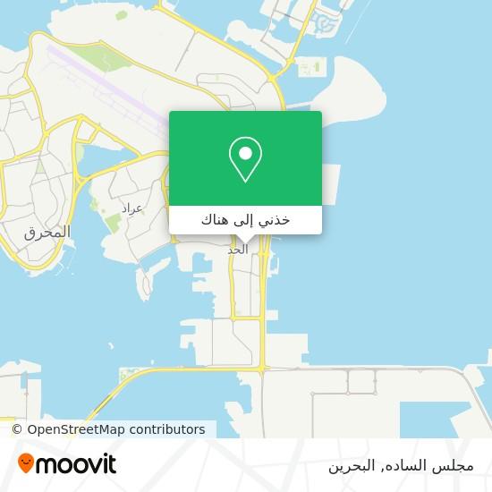 خريطة مجلس الساده