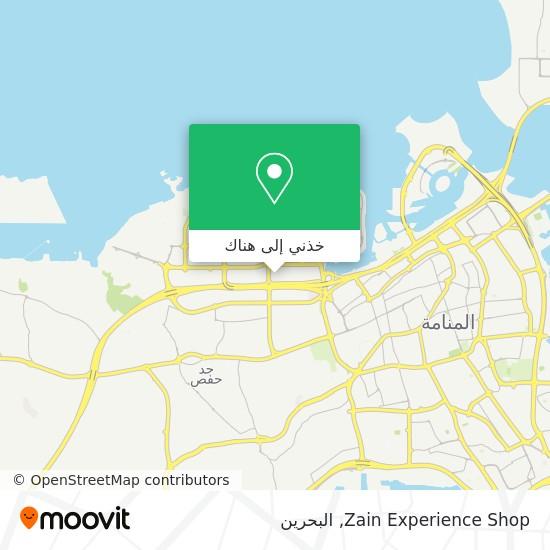 خريطة Zain Experience Shop