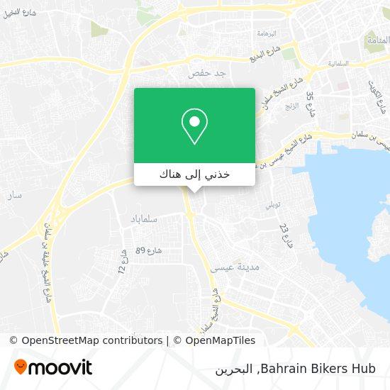 خريطة Bahrain Bikers Hub