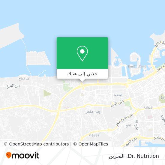 خريطة Dr. Nutrition