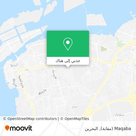 خريطة Maqaba (مقابة)