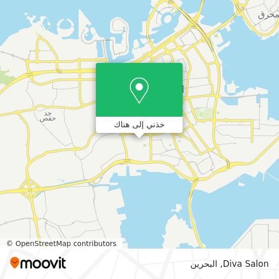 خريطة Diva Salon