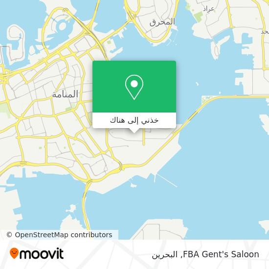خريطة FBA Gent's Saloon