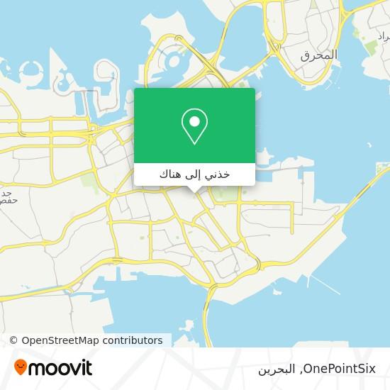 خريطة OnePointSix