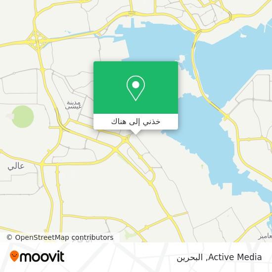خريطة Active Media