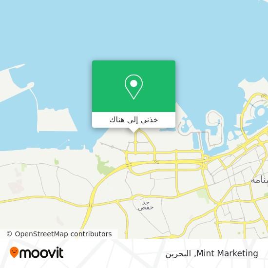 خريطة Mint Marketing
