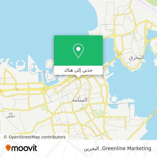 خريطة Greenline Marketing