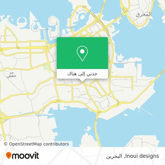 خريطة Inoui designs