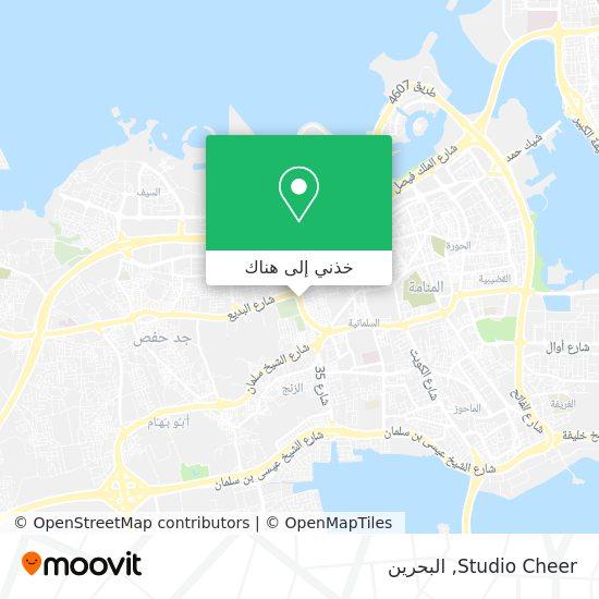 خريطة Studio Cheer