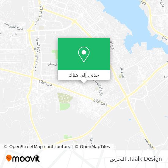 خريطة Taalk Design