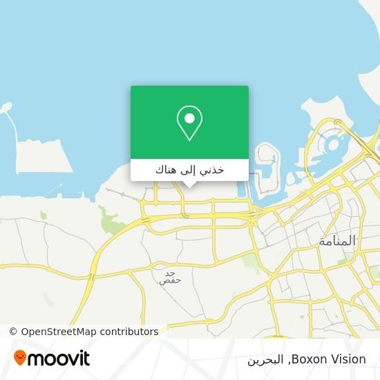 خريطة Boxon Vision
