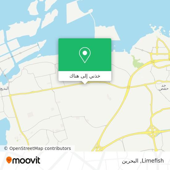 خريطة Limefish