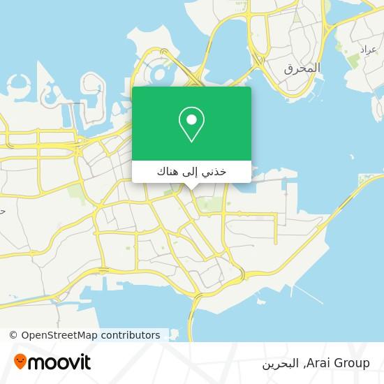 خريطة Arai Group