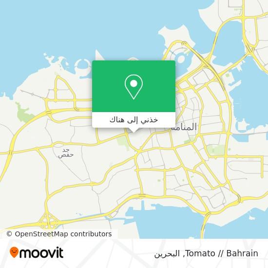خريطة Tomato // Bahrain