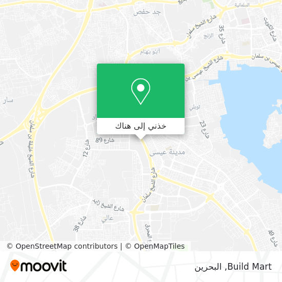 خريطة Build Mart