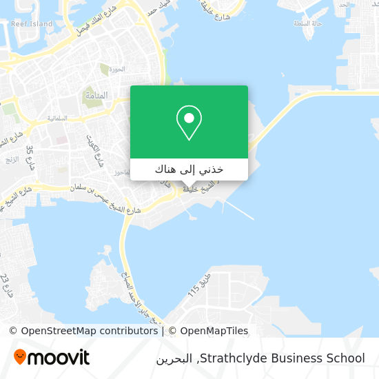 خريطة Strathclyde Business School