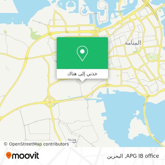 خريطة APG IB office
