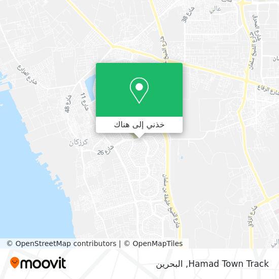 خريطة Hamad Town Track