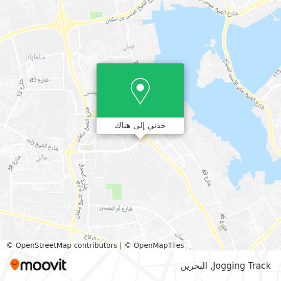 خريطة Jogging Track