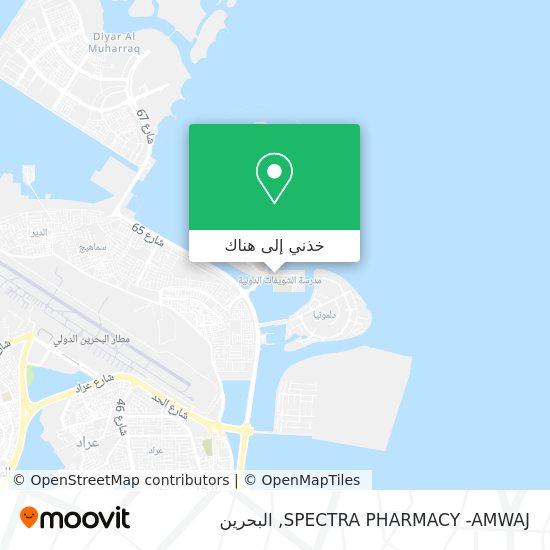 خريطة SPECTRA PHARMACY -AMWAJ