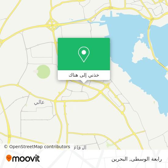 خريطة رابعة الوسطى