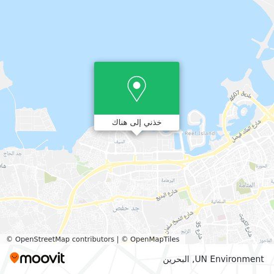 خريطة UN Environment