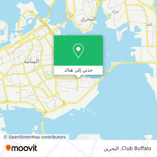 خريطة Club Buffalo