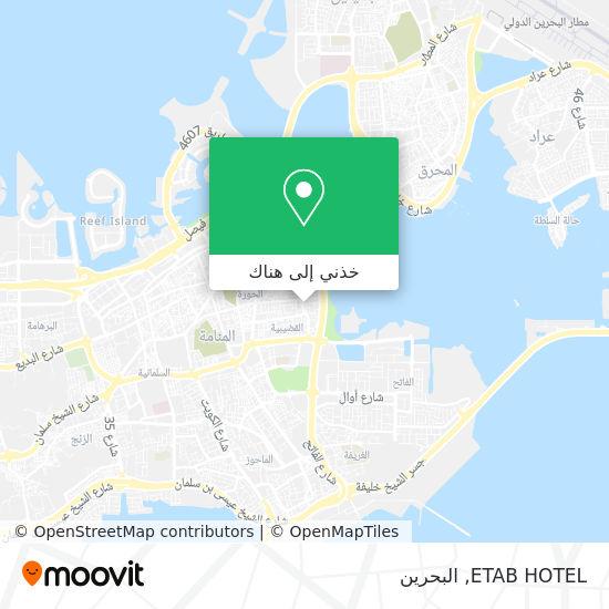 خريطة ETAB HOTEL