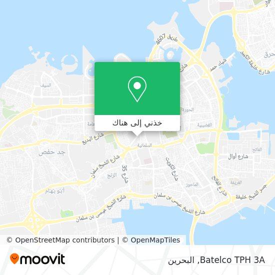 خريطة Batelco TPH 3A