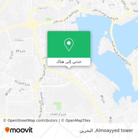 خريطة Almoayyed tower