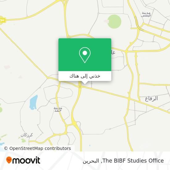خريطة The BIBF Studies Office