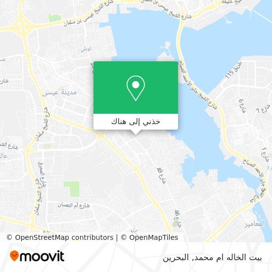 خريطة بيت الخاله ام محمد