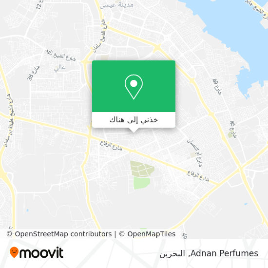 خريطة Adnan Perfumes