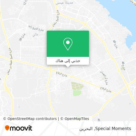 خريطة Special Moments