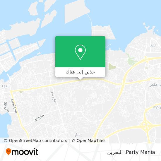 خريطة Party Mania