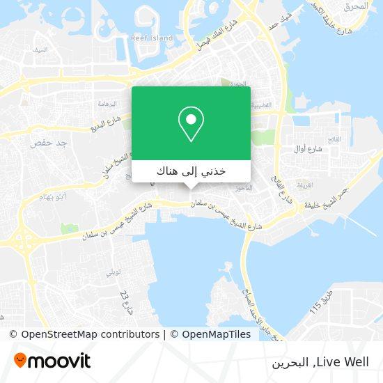 خريطة Live Well