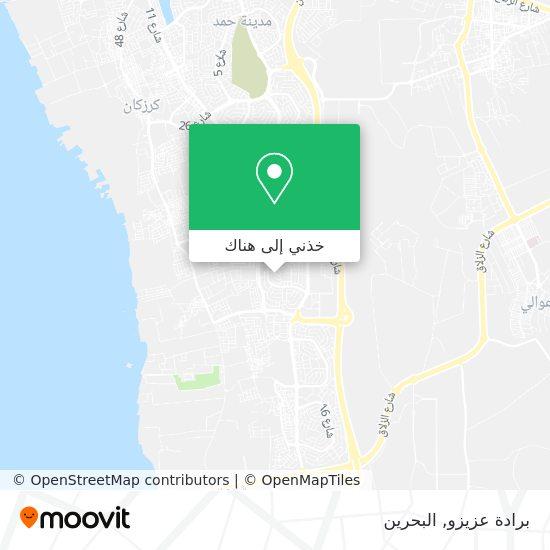 خريطة برادة عزيزو