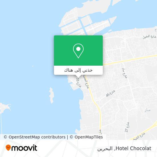 خريطة Hotel Chocolat