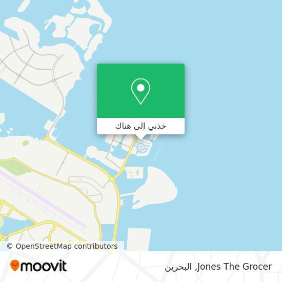 خريطة Jones The Grocer