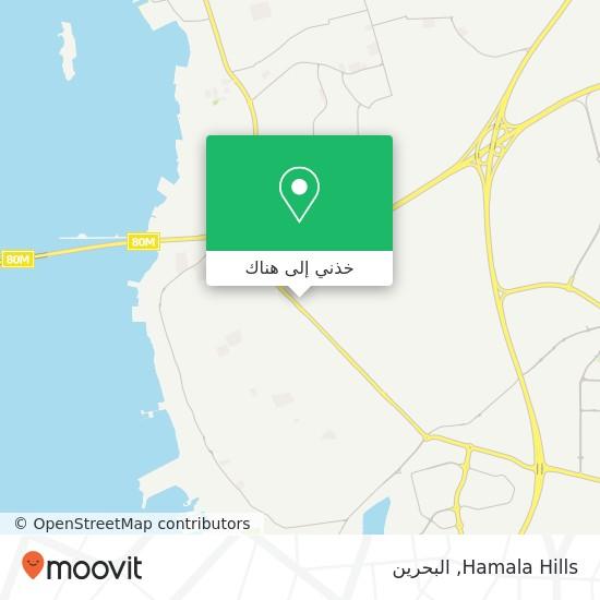 خريطة Hamala Hills