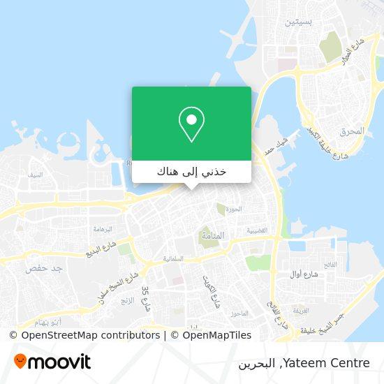 خريطة Yateem Centre