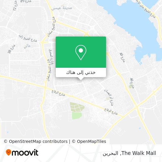 خريطة The Walk Mall