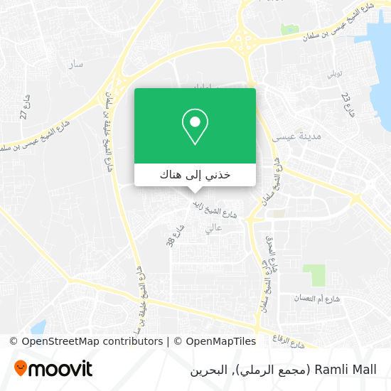 خريطة Ramli Mall (مجمع الرملي)
