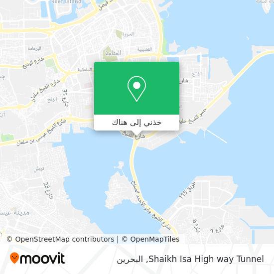 خريطة Shaikh Isa High way Tunnel
