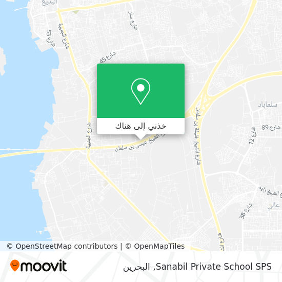 خريطة Sanabil Private School  SPS