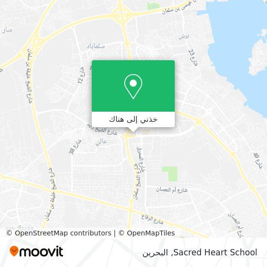 خريطة Sacred Heart School