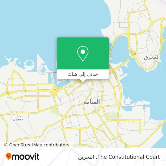 خريطة The Constitutional Court