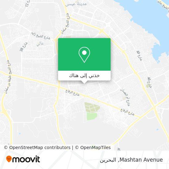 خريطة Mashtan Avenue